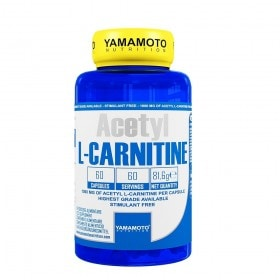 Acetyl L-CARNITINE - Yamamoto Nutrition