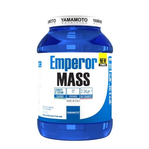 Emperor MASS New Formula - Cookies and Cream - Yamamoto Nutrition